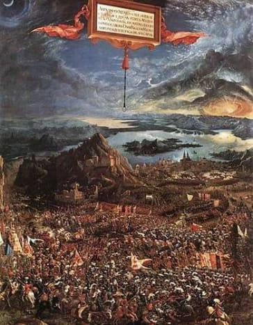Albrecht Altdorfer: The Battle of Alexander