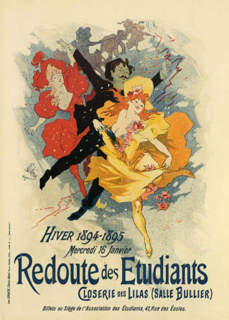 A poster by JULES CHERET