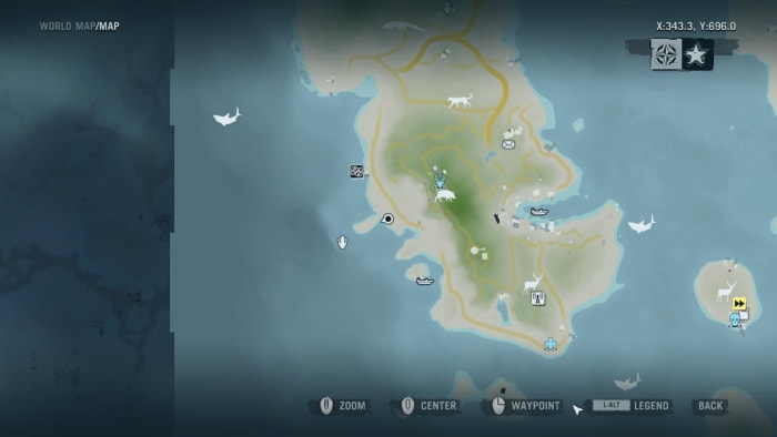Archaeology 101 - Gameplay 01 Map: Far Cry 3 Relic 32, Shark 2.