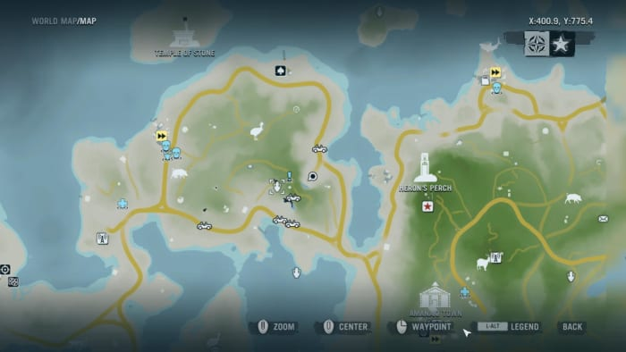 Archaeology 101 - Gameplay 01 Map: Far Cry 3 Relic 61, Boar 1.