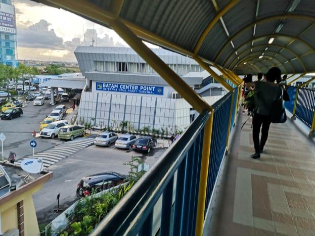 Bridge to Batam Centre Point International Ferry Terminal