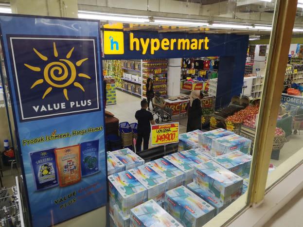 Mega Mall Batam Centre hypermarket