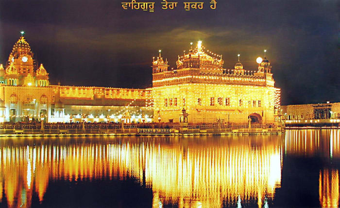 Foundation of Golden Temple of India