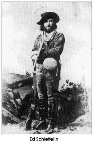Ed Shieffelin, 1847–1897. Shieffelin founded Tombstone, Arizona after discovering silver.
