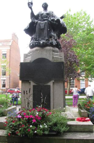 Memorial in King Square