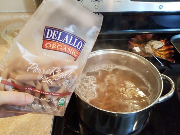 Step One: Boil your chosen noodles