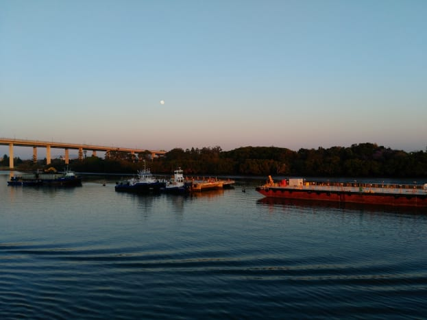 Early Morning on Brisbane River