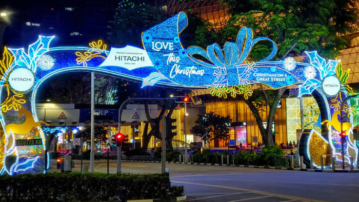 "The illuminations and designs for Orchard Road 2020 Christmas Light-Up were intended by organizers to be ""quieter,"" because of the COVID-19 pandemic. Nonetheless, it's still a marvelous sight to behold."