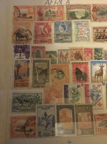 Some of my stamp collection