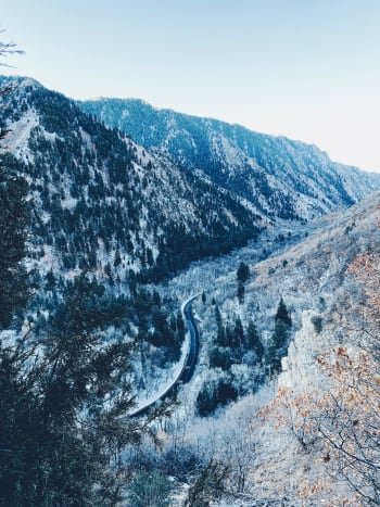 Millcreek Canyon. I took this photo while hiking up on the canyon. It was breathtaking. The air was fresh and I love every minute of it!