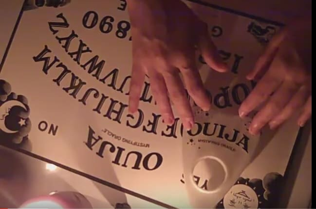 Ouija board: dabbling with the occult