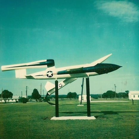 A Loon, a U.S. version of the V-1.  Lackland AFB, TX, 1977.