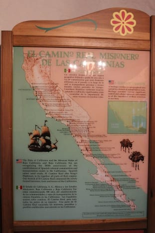 The most northern mission on this map is the one of San Francisco Solano.