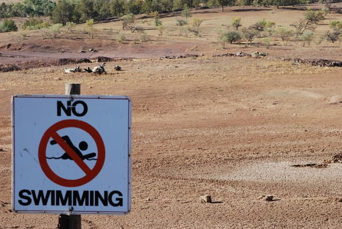 Drought in South Australia, 2008.  Photo by Peripetus.