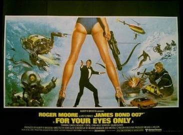 For Your Eyes Only, UK theatrical release poster.