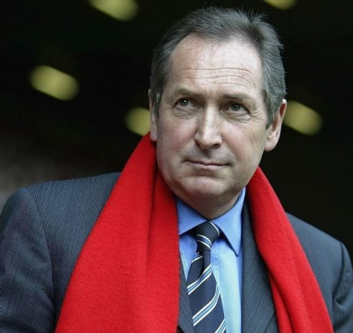 Gerard Houllier while with Liverpool.