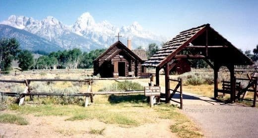 Chapel of the Transfiguration in the Grand Tetons National Park