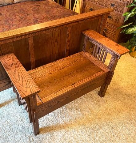 Original bench.