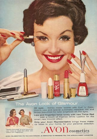 AVON: Serving up Beauty since 1928.