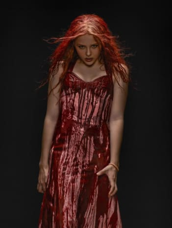 Chloé Grace Moretz as Carrie in 2013