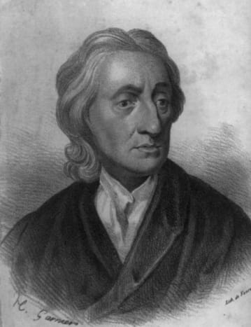 John Locke's philosophy tells us the people are born without innate ideas and that everything they become is influenced by those around them, their environment and developing history.