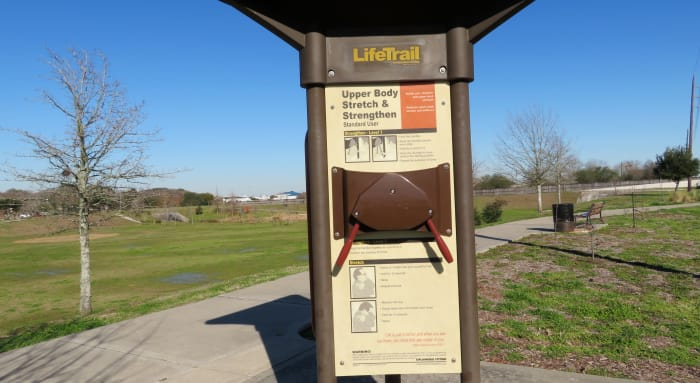 Bayou Fitness Trail and Exercise Equipment