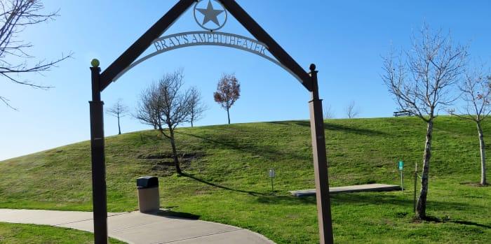 Bray's Amphitheater Sign