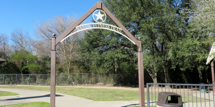 Bayou Fitness Trail Marker