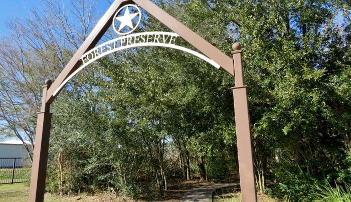 Forest Preserve Marker