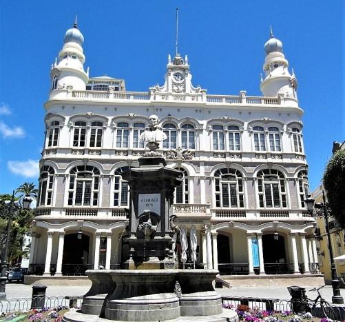 Gabinete Literario, Las Palmas.