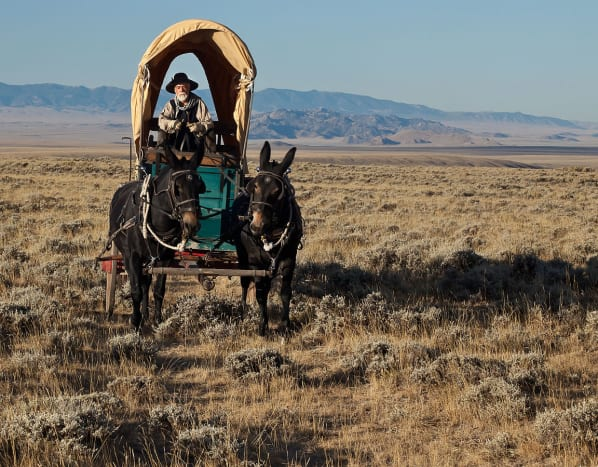 Oregon Trail in Wyoming