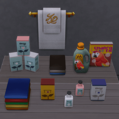 Brazen Lotus separates and extracts content from the games which can be used for deco!