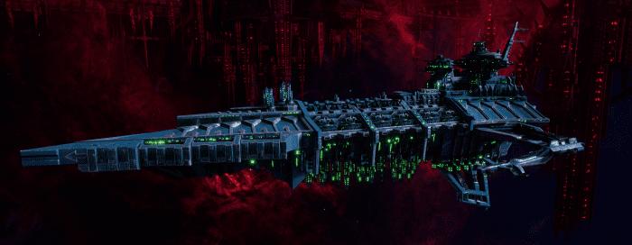 Chaos Battleship - Desolator (Alpha Legion Sub-Faction)