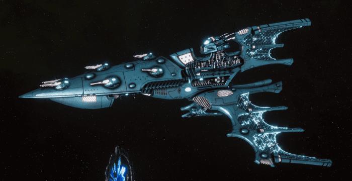 Aeldari Corsair Cruiser - Kurnous [Sky Raiders - Sub-Faction]