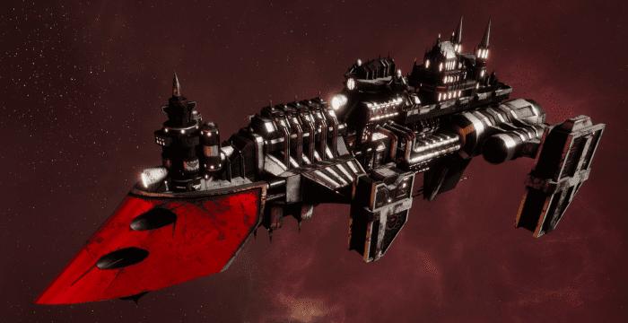 Imperial Navy Destroyer - Cobra Widowmaker (Koronus Sub-Faction)