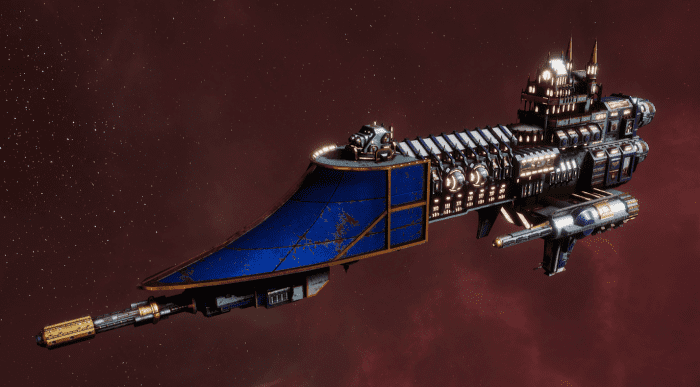 Imperial Navy Frigate - Firestorm (Bastion Sub-Faction)