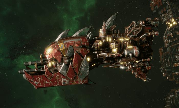 """Ork Gunship - """"Savage"""" - [Ork Pirates Sub-Faction]"""