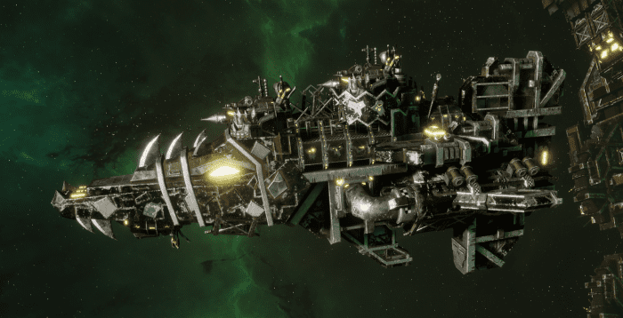 """Ork Attack Ship - """"Onslaught"""" - [Goffs Sub-Faction]"""