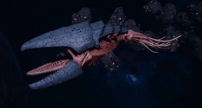 "Tyranid Light Cruiser - ""Bio Clutch Voidprowler"" - [Behemoth Sub-Faction]"