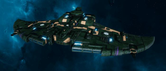 "Tau Protector Fleet Cruiser - Lar'Shi'Vre ""Protector"" T'Olku - [Dal'yth Sub-Faction]"