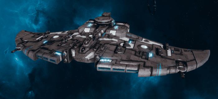 "Tau Protector Fleet Cruiser - Lar'Shi'Vre ""Protector"" Vior'La - [D'Yanoi Sub-Faction]"