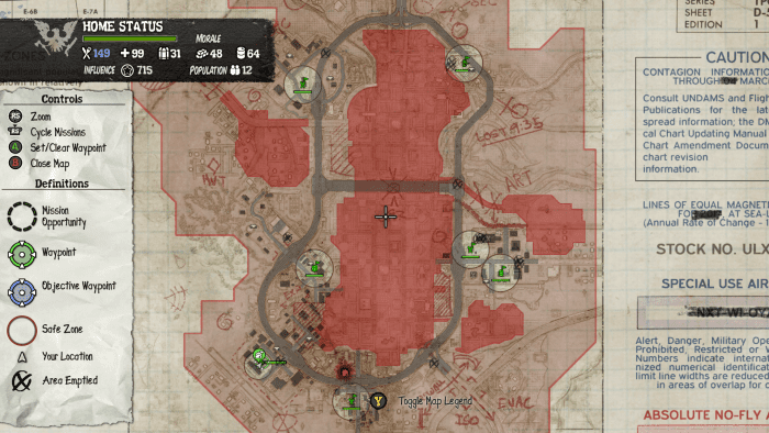 Set up these Outposts in the beginning of the game.