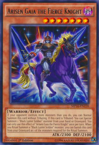 Arisen Gaia the Fierce Knight