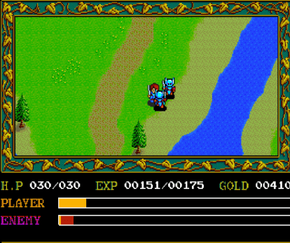 Ys greatly improved upon the gameplay...