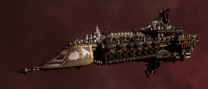 Imperial Navy Grand Cruiser - Vengeance Class  (Gothic Sub-Faction)