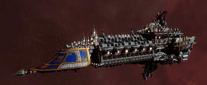 Imperial Navy Grand Cruiser - Avenger Class (Bastion Sub-Faction)