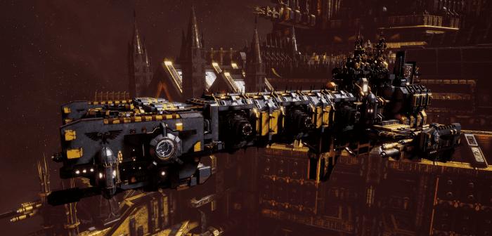 Adeptus Astartes Light Cruiser - Vanguard MK.II (Space Wolves Sub-Faction)