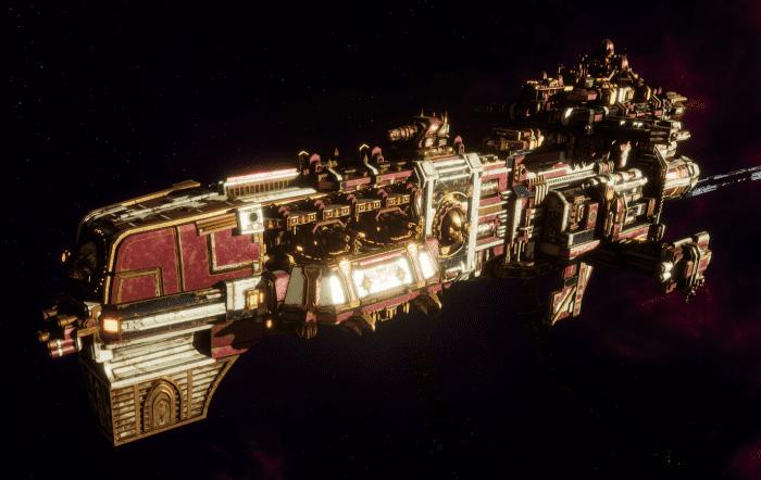 Adeptus Mechanicus Light Cruiser - Endurance (Lucius Faction)