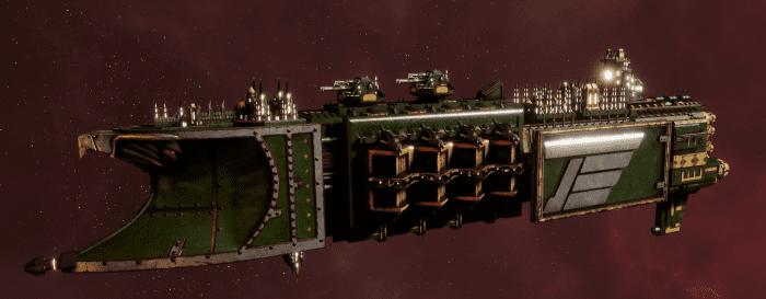 Imperial Navy Light Cruiser - Defiant (Bakka Sub-Faction)
