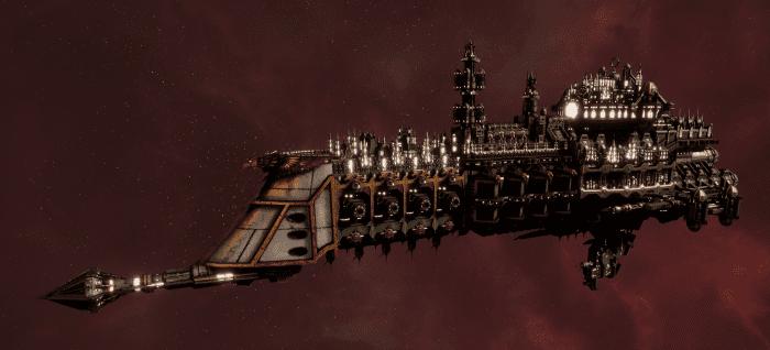 Imperial Navy Cruiser - Dictator (Gothic Sub-Faction)